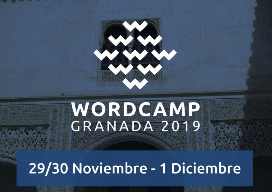 WordCamp Granada 2019 ¿Te apuntas?